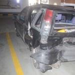 Dugó van, három autó ütközött az Egér úton