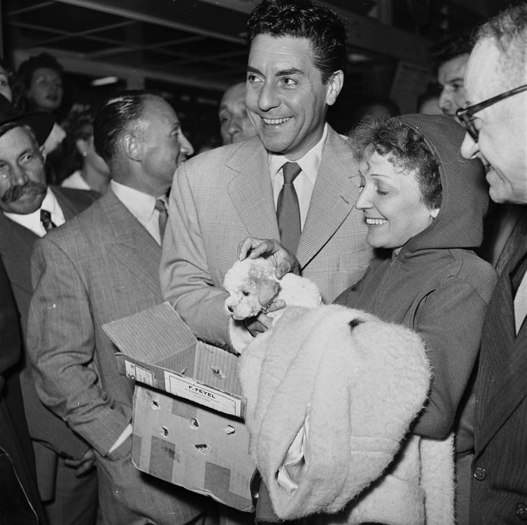 1953. - Edith Piaf és Jacques Pills - Edith Piaf