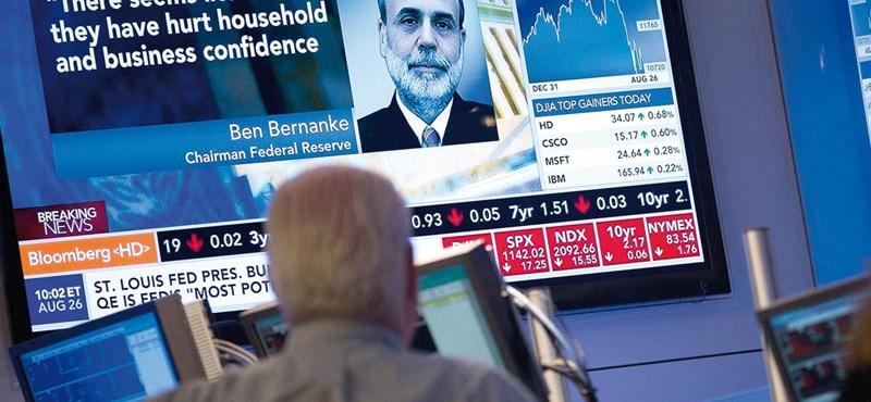 Lehúzta Bernanke az ázsiai tőzsdéket