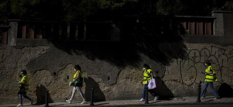 Szigorú országos karantént rendeltek el Portugáliában, de focimeccsek lesznek