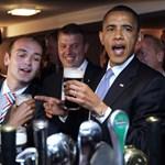 Így sörözik Obama Írországban - fotógaléria