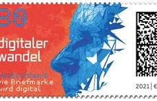 Nagyon hasznos kódot tesz minden bélyegére a német posta