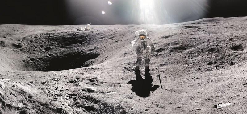 Közvetlen bizonyítékot találtak, tényleg víz van a Holdon