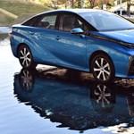 Már árulják a hidrogénmeghajtású Toyotát