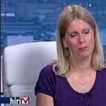 Ürge-Vorsatz Diána élő adásban könnyezett Áder miatt – videó