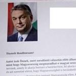 Halottaknak is küldözget levelet Orbán Viktor