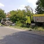 Meghalt egy motoros Békéscsabánál, lezárták a 44-es főutat