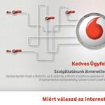 Napok óta valami baj van a Vodafone-nál, nem lehet számlát befizetni a honlapon