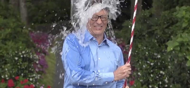 Bill Gates bevállalta Zuckerberg kihívását