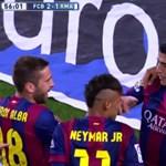 Az utolsó pillanatban Suarez mentett pontot a Barcelonának