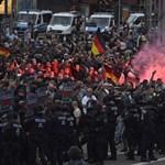 Kelet-Németország újabb városában vonult fel a szélsőjobb