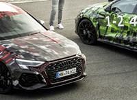 Az Audi megmutatta az akár 450 lóerős új RS3-at