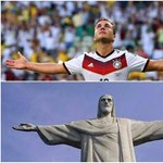 Német cápa, Götze-torta, Messi új meze – Facebook-fotók a győzteseknek