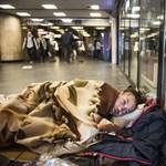 Látszatintézkedésnek jó: a frekventált aluljárókból kiterelték a hajléktalanokat