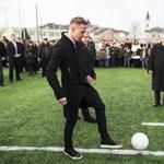 Ronaldoért, Messiért és Dzsudzsákért rajonganak a fiatal focisták