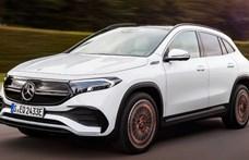Közel 500 kilométer elektromosan, ezt tudja a most leleplezett új Mercedes EQA