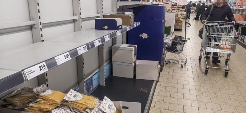 Európai szinten is kiemelkedő volt a magyar felvásárlási láz a járvány elején