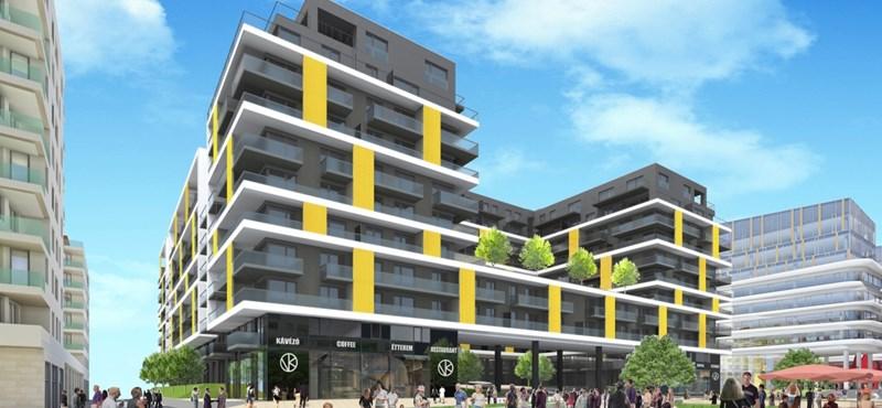 A nyóckerben 600 ezres négyzetméterárról licitálnak felfelé a vevők a lakásokért