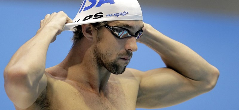 Öt aranyat kaparintott meg Phelps