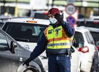12 megyében marad a fokozott rendőri ellenőrzés