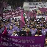 Óriástüntetésen tiltakoztak a bolgárok a megszorítások ellen
