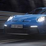 510 lóerős szívómotor és hatalmas szárny: íme az új Porsche 911 GT3