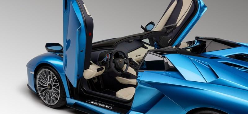 Elképesztően jól fogynak a Lamborghini sportkocsik