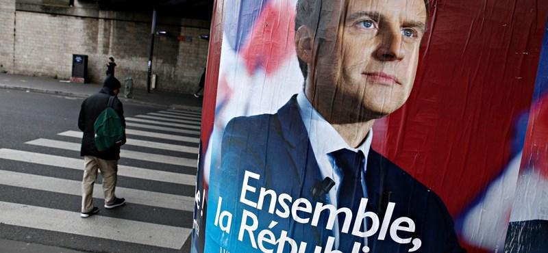 Macron: A francia demokráciát aláásó hackertámadás történt