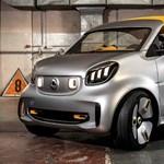 Cukiságfaktor kimaxolva: itt a legújabb Smart városi kisautó