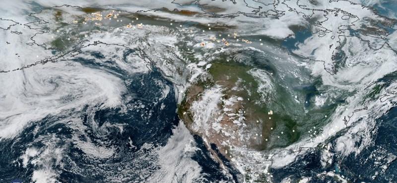 A sarkvidéki tüzek miatt rekordmennyiségű szén-dioxid került a légkörbe idén