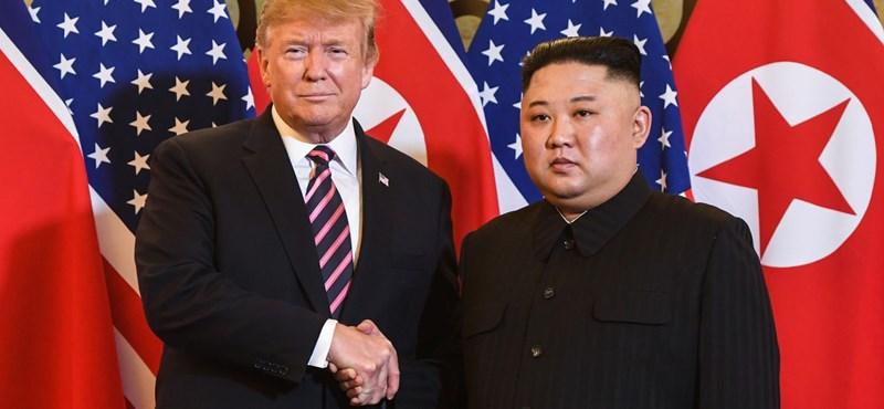 Egy találó mém Trump és Kim Dzsongun kapcsolatáról