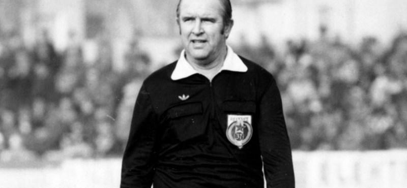 Meghalt Palotai Károly olimpiai bajnok labdarúgó és játékvezető