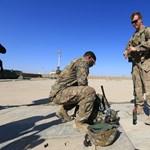 Amerikai katonák támaszpontját támadták rakétával Irakban