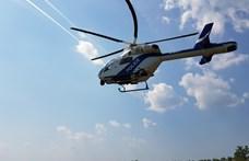 Vadászlámpával vakította el a helikopterpilótákat egy férfi a magyar–ukrán határnál