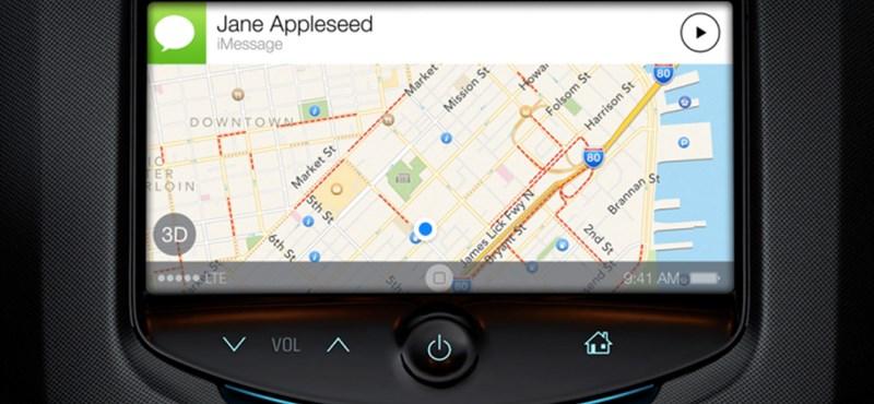 Érdekes képek szivárogtak ki az Apple autós iOS-éről