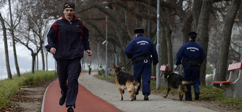 Kovács tizedes túltolta: nem bírságolnák a Margitszigeten futókat