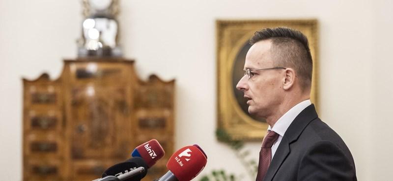 Szijjártó Péter fontos bejelentésre készül a szerb-magyar határon