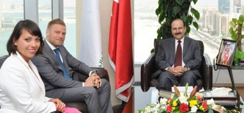 A bahreini hatóság oldalán máris átírták az Orbán Ráhel látogatásáról szóló hírt