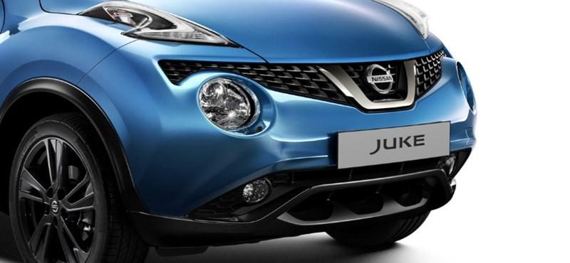 Búcsúcsók a békának: itt a felfrissített Nissan Juke