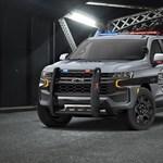 Kellően határozott fellépésű az új rendőrségi Chevrolet Tahoe