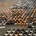 Így néz ki, amikor egyszerre frissítenek le több száz Teslát