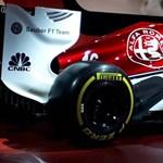 Máris itt az első 2018-as F1-autó: fotókon az Alfa Romeo