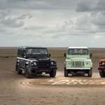 Szépen vonul nyugdíjba a Land Rover Defender