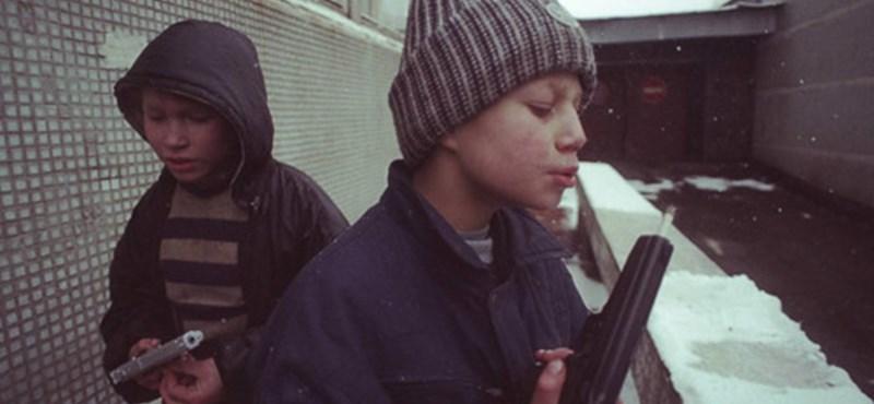 A nap képe: a moszkvai utcagyerekek kegyetlen élete
