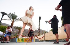 Túl szexi lett a Marilyn Monroe-szobor, mégis felállították Floridában