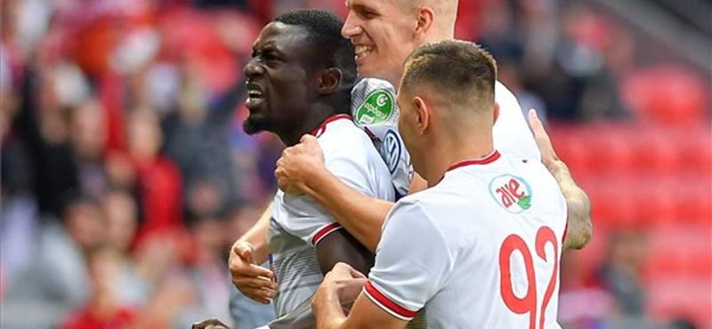 Simán nyerte a Debrecen az első Európa Liga-selejtezőjét