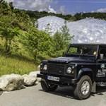 Már a vadonban az elektromos Land Rover Defender