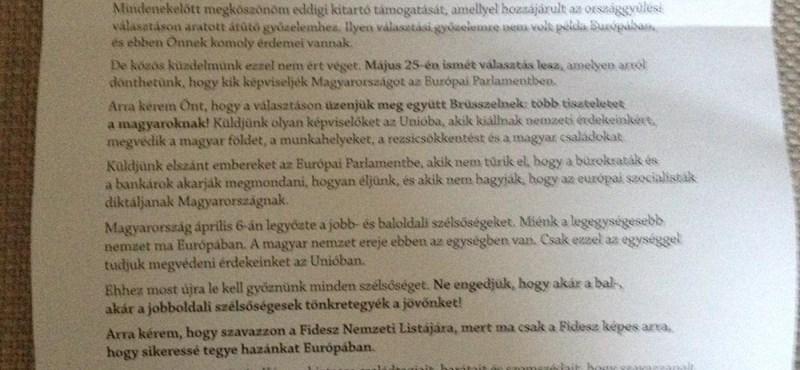 Fotó: Hamarosan ön is megkapja ezt a levelet Orbán Viktortól