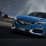 Kompakt izomhibrid? 500 lóerős lesz a Peugeot 308 R Hybrid
