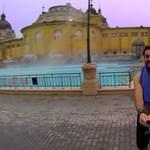 Videó: Budapesten is járt a GoPro kamerával szelfiző világutazó